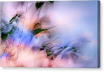 Canvas Print featuring the photograph Let The Winds Of The Heavens Dance by Theresa Tahara