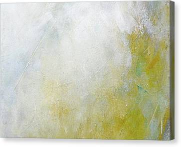 Silver Turquoise Canvas Print - Let There Be Light by Laurie Hein