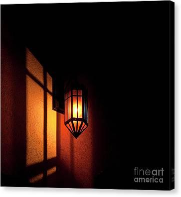 Let There Be Light.. Canvas Print by Nina Stavlund