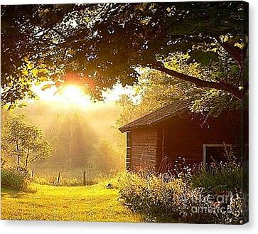 Let There Be Light Canvas Print by Rod Jellison