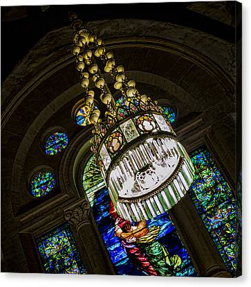 Jesus Canvas Print - Let There Be Light by Stephen Stookey