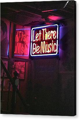 Let There Be Music Canvas Print