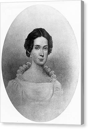 Letitia Tyler, First Lady Canvas Print by Science Source