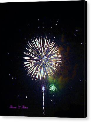 Canvas Print featuring the photograph Lets Celebrate by Shana Rowe Jackson