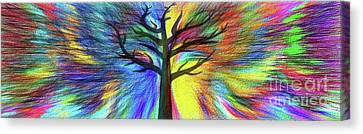Canvas Print featuring the photograph Let's Color This World By Kaye Menner by Kaye Menner
