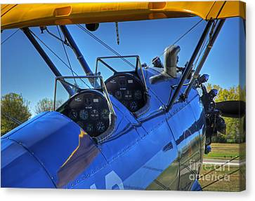 Lets Fly Canvas Print by Fred Lassmann