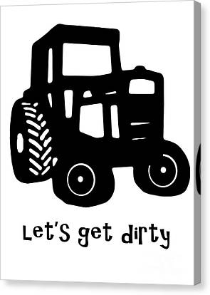 Let's Get Dirty 2 Canvas Print by Edward Fielding