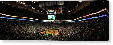 Let's Go Celtics Canvas Print by Juergen Roth