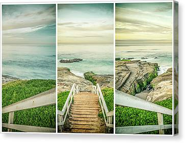 Let's Go Down To Windansea Canvas Print