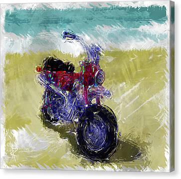 Lets Go For A Ride Canvas Print