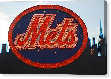 Lets Go Mets Canvas Print