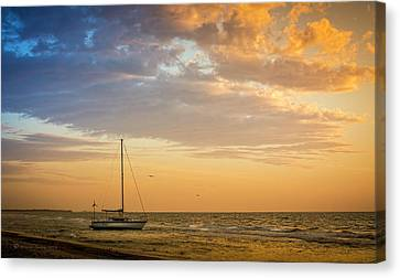 Let's Sail Away Canvas Print by Marvin Spates