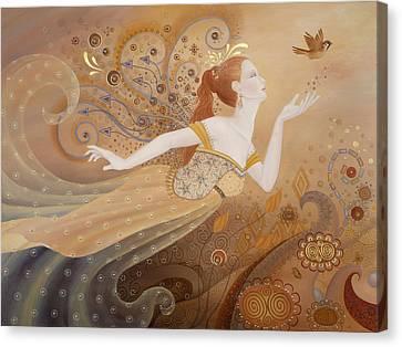 Letting Go Again Canvas Print by BK Lusk
