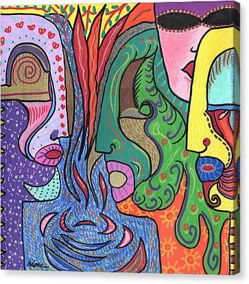 Levels Canvas Print by Sharon Nishihara