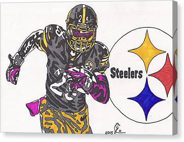 Le'veon Bell 2 Canvas Print by Jeremiah Colley