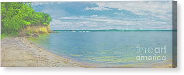 Lewis And Clark Lake Canvas Print