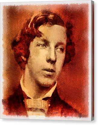 Lewis Carroll, Author Canvas Print by John Springfield