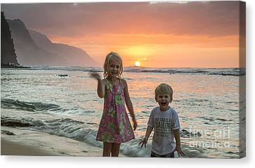 Canvas Print - Liam And Makena by Dustin K Ryan