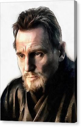 Liam Neeson Canvas Print