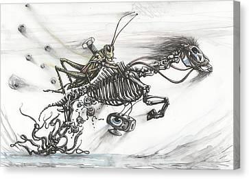 Liberation Ride Canvas Print