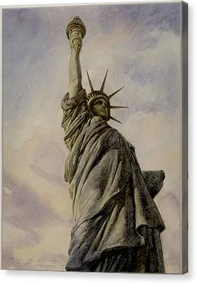 Liberte Canvas Print