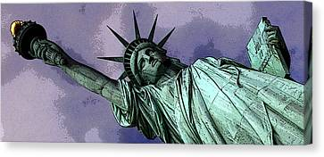 Liberty 3 Canvas Print by William  Todd