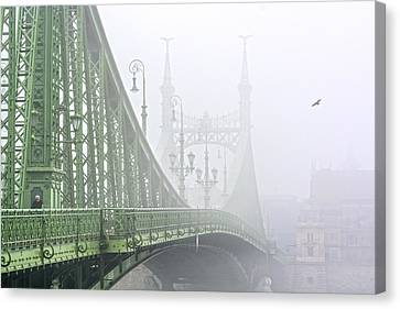 Liberty Bridge Budapest Hungary Canvas Print by Ayhan Altun