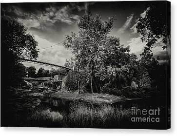 Liberty Bridge Greenville Sc Canvas Print