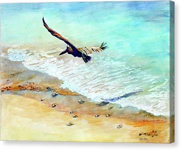 Liberty Canvas Print by Estela Robles