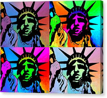 Liberty Of Colors - Mosaic Canvas Print