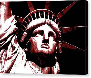 Liberty Canvas Print by Otis Porritt