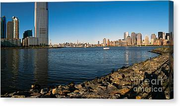 Liberty State Park Canvas Print by Valerie Morrison
