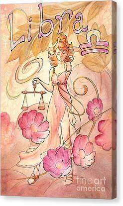 Libra Canvas Print by Arwen De Lyon
