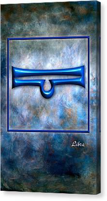 Libra  Canvas Print by Mauro Celotti