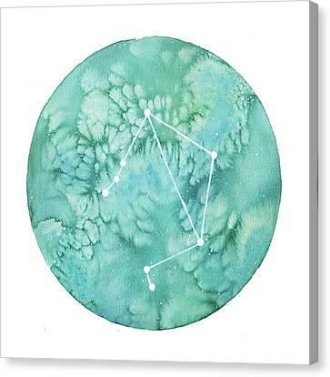 Libra Canvas Print by Stephie Jones
