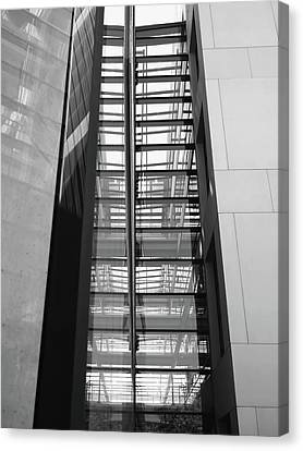 Library Skyway Canvas Print