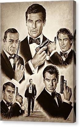 Licence To Kill Smooth Edit Canvas Print by Andrew Read
