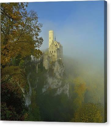 Wa Canvas Print - Lichtenstein Castle by Anna & Maciej Wojtas