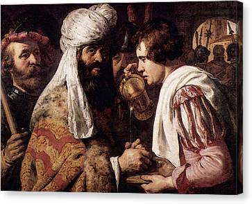 Lievens Pilate Canvas Print by Jan Lievens