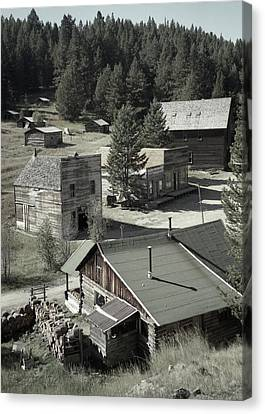 Life In A Ghost Town Canvas Print