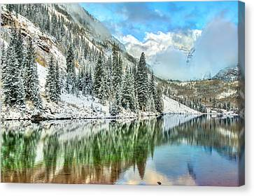 Colorado Living Canvas Print by Gregory Ballos