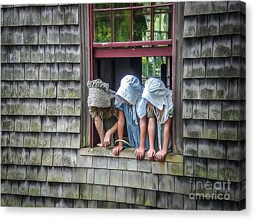 Life In The 1830's Canvas Print