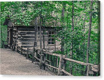 Canvas Print featuring the photograph Life In The Ozarks by Annette Hugen