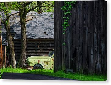 Life In The Slow Lane Canvas Print by Bill Cannon