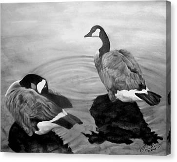 Life Mates Canvas Print