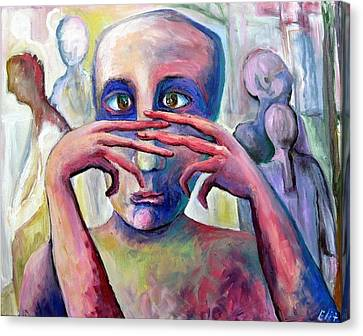 Canvas Print - Life Of Fingers by Elisheva Nesis