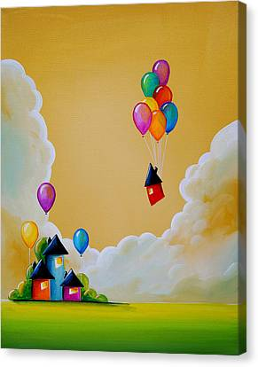 Life Of The Party Canvas Print by Cindy Thornton