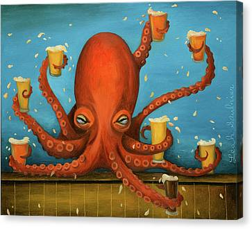 Canvas Print - Life Of The Party by Leah Saulnier The Painting Maniac