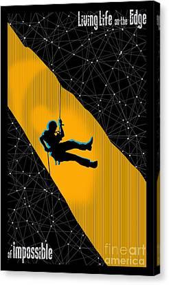 Canvas Print - Life On The Edge by Sassan Filsoof