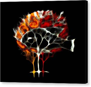 Life Tree Canvas Print by Lilianna Hakhverdyan